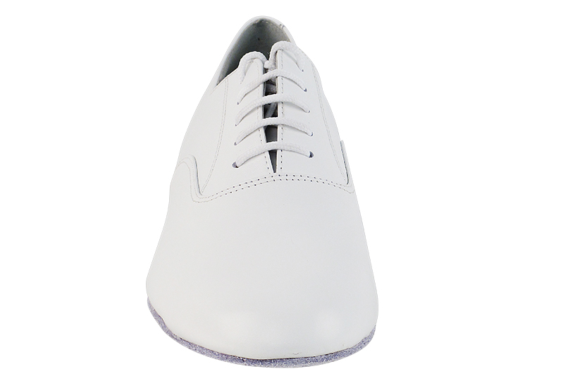 Classic White Leather Men's Dance Shoes