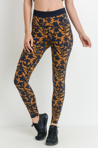 Laser Cut Compression Yoga Leggings