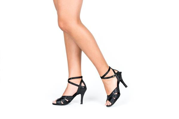 Black Raven Salsa Dance Shoes