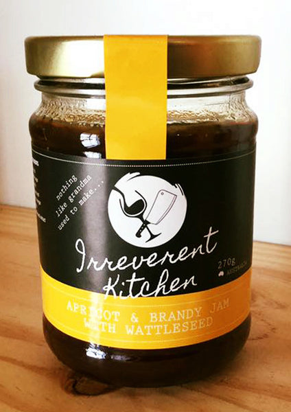 Apricot & Brandy Jam with Wattleseed