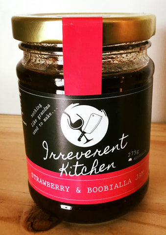 Strawberry & Boobialla Jam