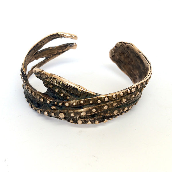Alligator Cuff by Marisa Grieco
