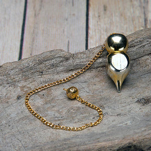 Golden Metal Pendulum