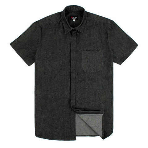 Ides of March Ivy League Black Denim Button Down