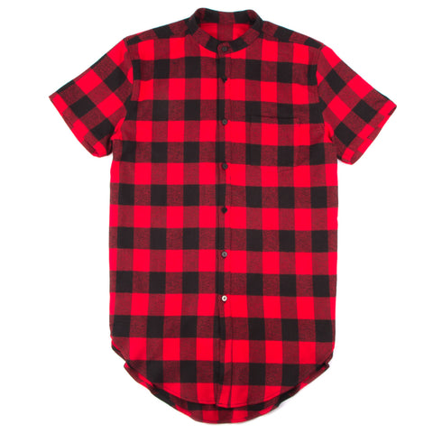 Ides of March Essentials Longline Flannel