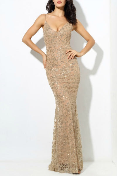 4c0f55c39fb3 Reemi - Sparkly Gown - Gold. Free Gift · Gigi The Label