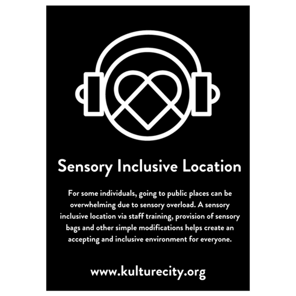Sensory Inclusive Decals