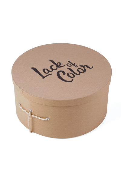 Hat Box - Brown