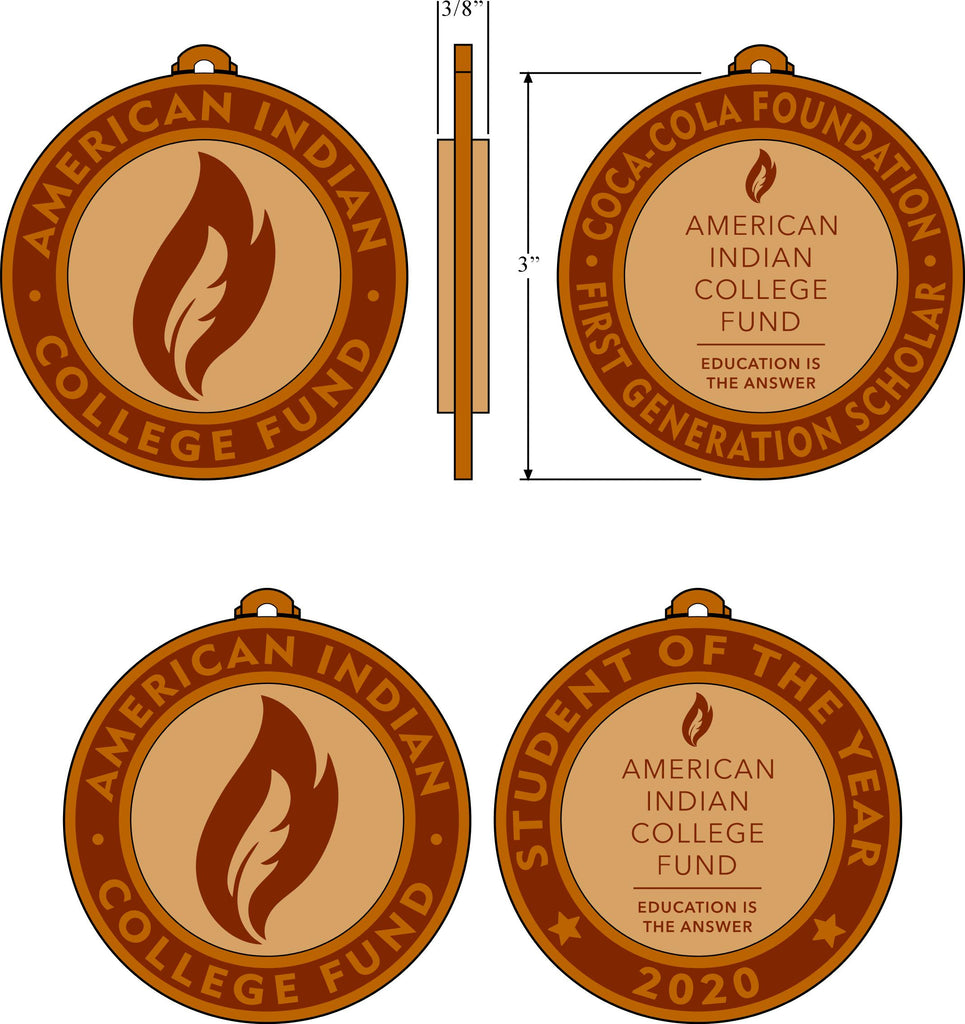 "Custom 3"" Wooden Medallions"
