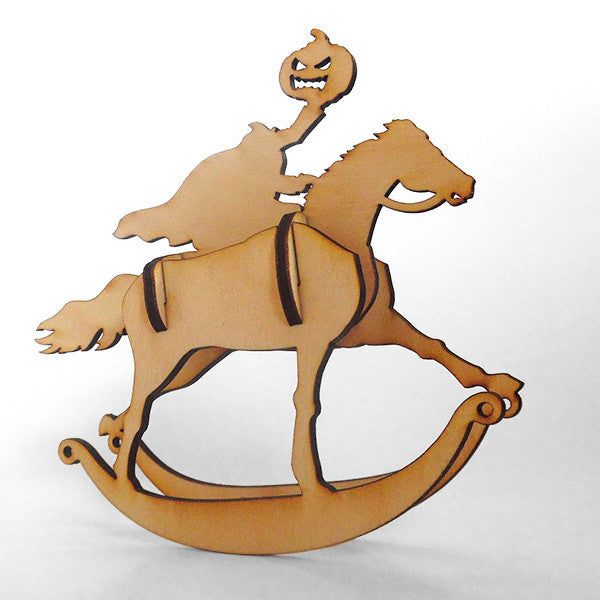 Ichabod Wooden Puzzle Rocker