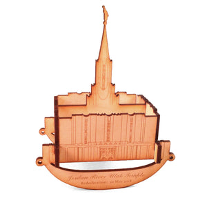 Jordan River Temple Wooden Puzzle Rocker