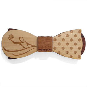 C.M. Waterpolo Esq., Cherry Wood Bow Tie