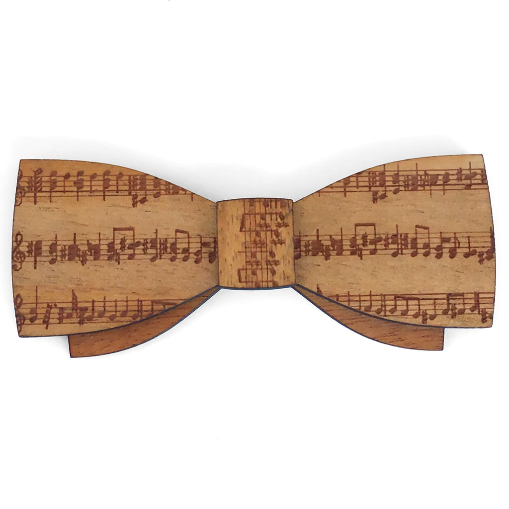 M.M. George Sr., Music Design Wood Bow Tie