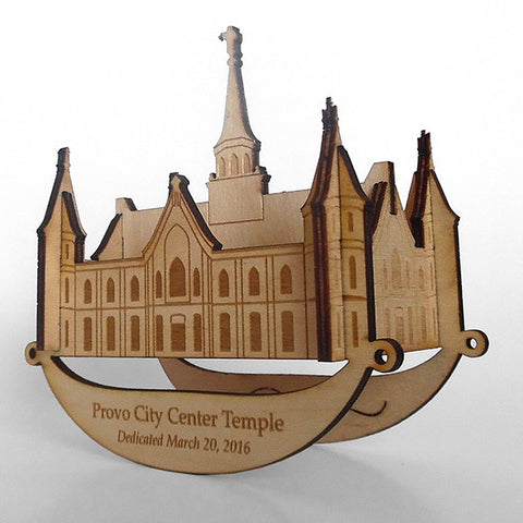 Provo City Center Puzzle Toy Rocker