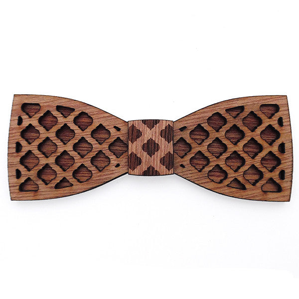 L.L. Moroccan Jr., Wood Bow Tie