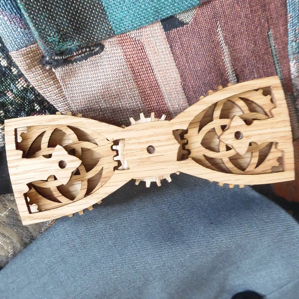 R.R. Wells Jr. Moving Wood Gear Tie