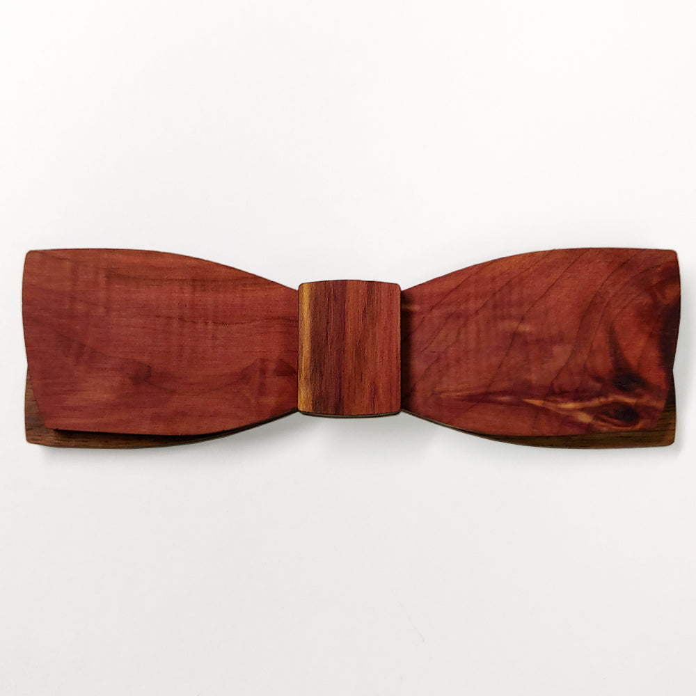 R.W. Rhett M.Sc., Red Cedar Wood Bow Tie