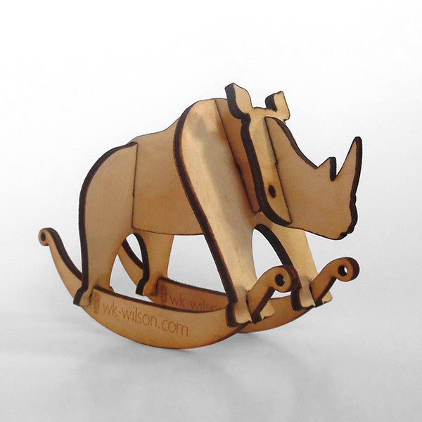 Rhino Puzzle Toy Rocker