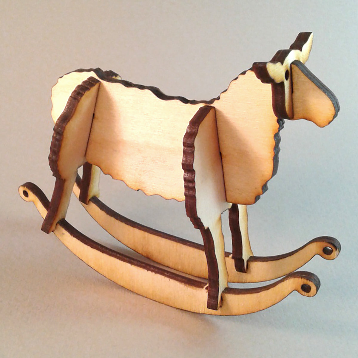 Sheep Wooden Puzzle Rocker