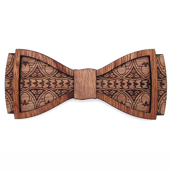 L.L. Eisinger D.Phil., Wood Bow Tie