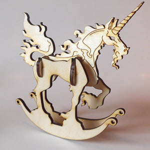 Unicorn Puzzle Toy Rocker