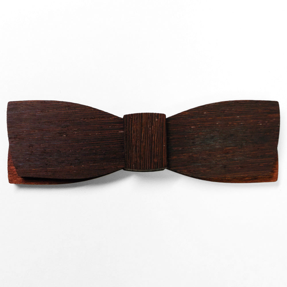 W.M. Weston M.Sc., Dark Wenge Wood Bow Tie