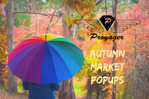 Proyager canvas bags autumn 2019 market and festival popup dates in Melbourne and country Victoria, Australia