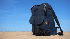 Ravenloch 15 inch laptop backpack in navy blue