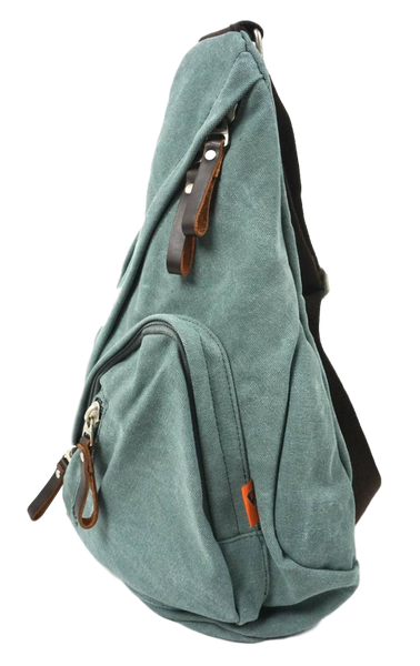 Sage Green Sling Bag right side