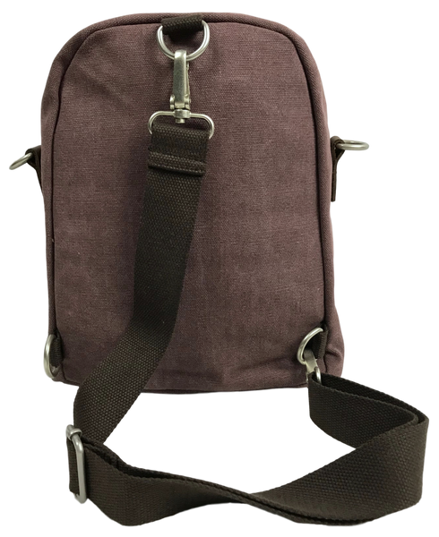 Purple Backpack, One Strap Sling Bag