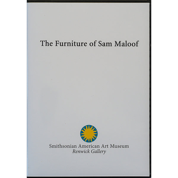 The Furniture of Sam Maloof Smithsonian DVD