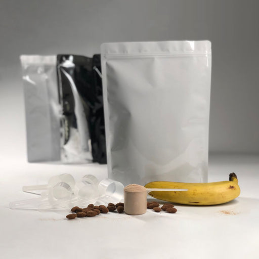 Protein Powder Starter Kit 1KG with Scoop - Titan Packaging