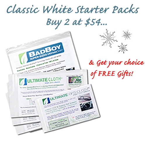 Combo 8 Piece 'STARTER PACK' Buy 2 at Special Holiday Pricing; Get Your Choice of FREE Gift