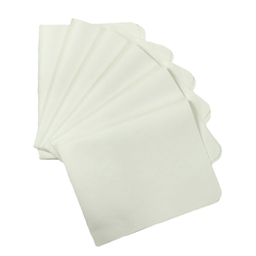Classic White UltimateCloth Supersized BadBoy: 6 Cleaning Cloth Special