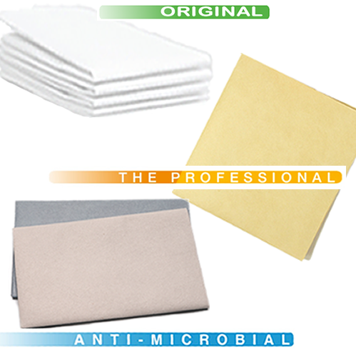 Combination Cleaning Pack: 4 Classic White Originals; 2 Antimicrobial Cloths; 1 UltimateCloth PRO - 7 Total Cloths