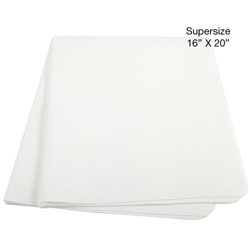 UltimateCloth SUPERSIZE: Classic White Cleaning Cloth