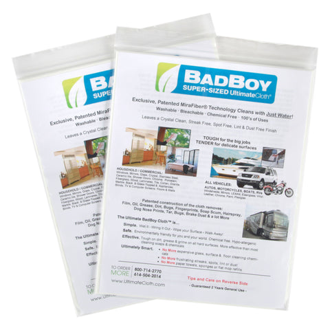 Classic White Supersized BTGO Sale: UltimateCloth 'Badboy' Cleaning Cloth