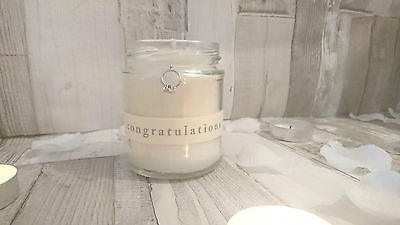 Congratulations Wedding/Engagement Scented Candle