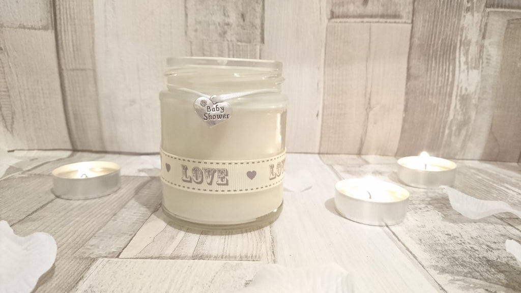 Baby Shower (love) Scented Jar Candle