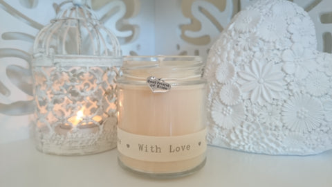 Best friend of bride (with love) Scented Candle Gift