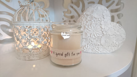 Good Luck (pink special gift) Scented Candle