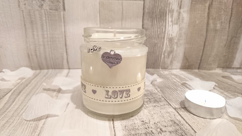 Bridesmaid (love) Scented Candle