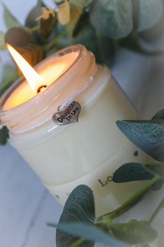 Daughter in Law 'with love' Scented Candle
