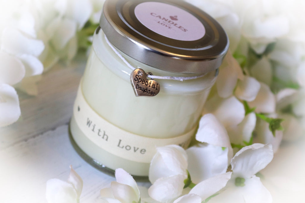 Daughter 'with love' Scented Candle