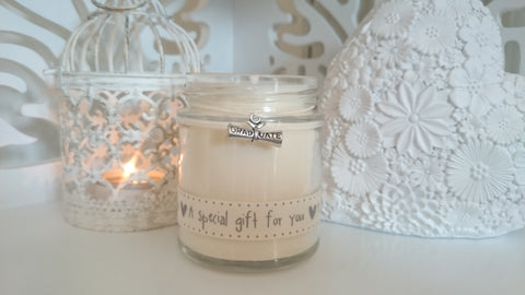 Graduate (a special gift for you) Scented Jar Candle