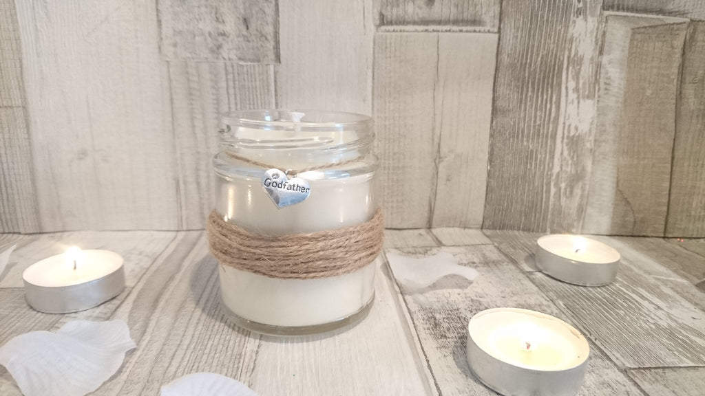 Rustic Godfather Scented Candle