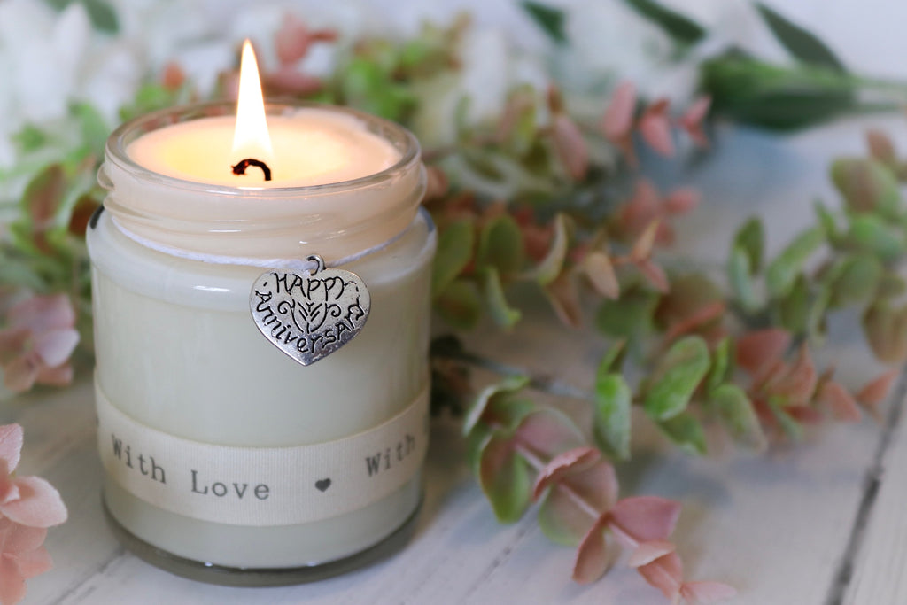 Happy Anniversary (with love) Scented Candle