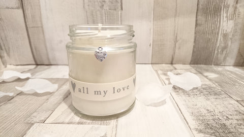 Best Friend (all my love) Scented Jar Candle