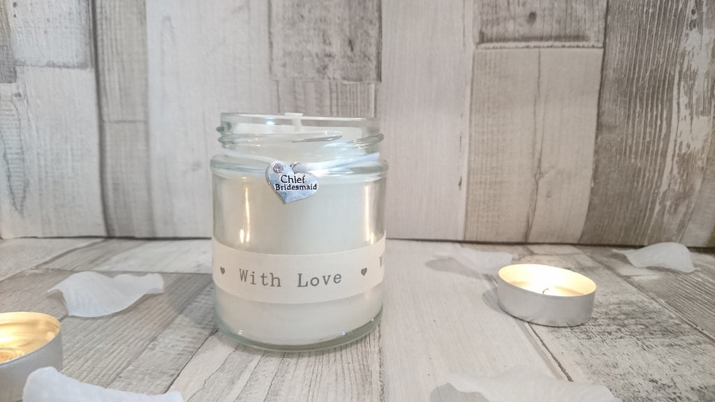 Chief Bridesmaid (with love) Scented Candle