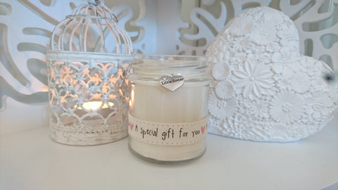 Little Sister (pink special gift ribon) Scented Candle